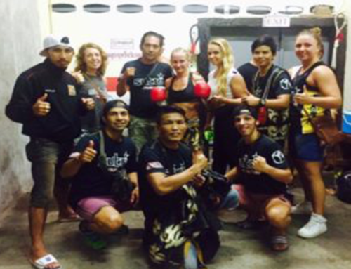 Moa Persson's 1st professional female Muay Thai fight